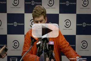 VIDEO: THE LEAGUE's Steve Rannazzisi Mocks Famous Sports Press Conference Meltdowns