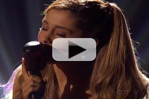 VIDEO: Ariana Grande Performs 'Tattooed Heart' at AMAs