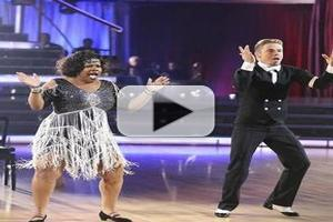 VIDEO: Amber Riley - 'Class, Fast & Built to Last' on DWTS Finals!