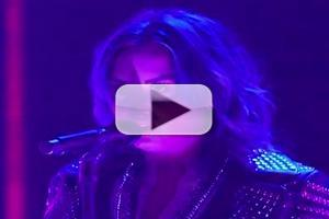 VIDEO: Demi Lovato Performs 'Neon Lights' on X FACTOR