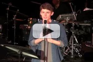 BWW TV Exclusive: CUTTING-EDGE COMPOSERS CORNER - Blake Daniel Performs Will Reynolds' 'I Knew a Boy'