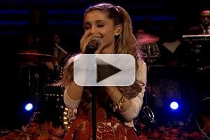 VIDEO: Ariana Grande Performs 'Last Christmas' on FALLON