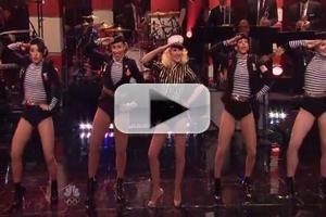 VIDEO: Christina Aguilera Performs 'Candyman' on JAY LENO