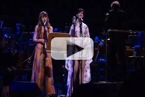 VIDEO: Anne Hathaway and Jenny Lewis Duet on 'Last Night You Were A Dream' from Beck's SONG READER