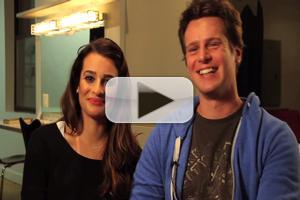STAGE TUBE: Reunited! Lea Michele, Jonathan Groff and the Original Cast of SPRING AWAKENING Revisit the Atlantic