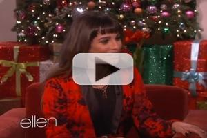 VIDEO: First Look - Lea Michele Talks Tragic Loss of Monteith on Today's ELLEN