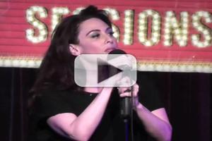 STAGE TUBE: MATILDA's Lesli Margherita Performs 'Children' at Broadway Sessions