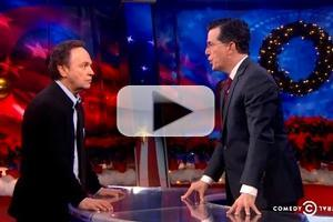 VIDEO: Billy Crystal & Stephen Colbert Compete for GRAMMY Award on 'Colbert'