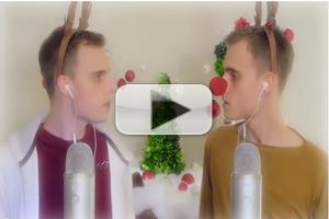 STAGE TUBE: Rudolph The Red Nose Reindeer Sings WICKED's 'Defying Gravity'?