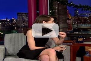 VIDEO: Cristin Milioti Talks 'How I Met Your Mother' on LETTERMAN