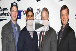 BWW TV: Yankees on Broadway! BRONX BOMBERS Cast Meets the Press
