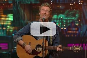 VIDEO: Glen Hansard Performs 'Falling Slowly' & More on LETTERMAN; Watch Full Concert!