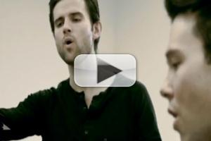 STAGE TUBE: Kyle Dean Massey and Taylor Frey Sing 'Angels We Have Heard On High' to Support St. Jude's