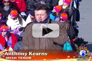 VIDEO: Anthony Kearns Sings 'We Three Kings' from 2013 Thanksgiving Day Parade