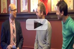 BWW TV Exclusive: BACKSTAGE WITH RICHARD RIDGE- A CHRISTMAS STORY Writers Benj Pasek & Justin Paul, Part 1