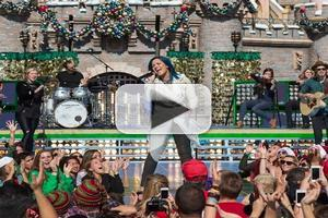 VIDEO: Demi Lovato Performs FROZEN's 'Let It Go' at Disney Christmas Parade