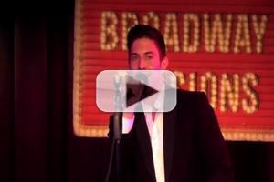 STAGE TUBE: Nick Adams Sings 'Winter Wonderland' at BROADWAY SESSIONS