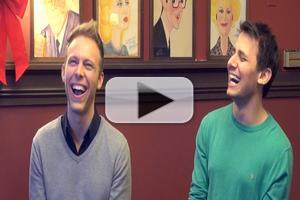 BWW TV Exclusive: BACKSTAGE WITH RICHARD RIDGE- Tony Nominees Benj Pasek & Justin Paul, Part 2