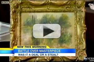 STAGE TUBE: Missing Renoir Painting Subject of Legal Dispute - Trash or Treasure?