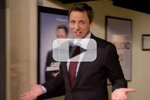 VIDEO: NBC Unveils First Official Promo for LATE NIGHT WITH SETH MEYERS!