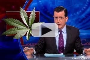 VIDEO: Stephen Chats Recreational Marijuana Sales on COLBERT