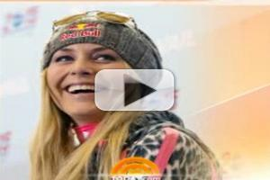 VIDEO: Lindsey Vonn Withdraws from Sochi Olympics Due to Knee Injury
