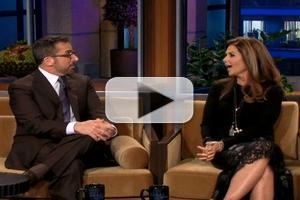 VIDEO: Maria Schriver Asks Steve Carell Why She Can't Be in 'Anchorman' Films on LENO