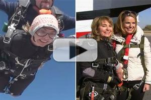 VIDEO: Watch Former Congresswoman Gabby Gifford Skydive Live on TODAY