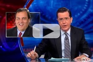 VIDEO: Stephen Talks Chris Christie Bridge Scandal on COLBERT