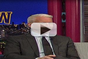 VIDEO: Anderson Cooper Talks Chris Christie Scandal on LETTERMAN