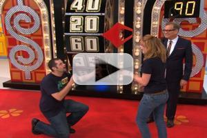 VIDEO: Watch Couple Get Engaged on THE PRICE IS RIGHT