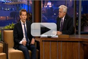 VIDEO: Kevin Bacon Talks THE FOLLOWING and More on LENO