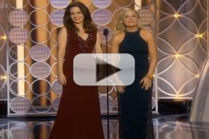 VIDEO: Tina Fey & Amy Poehler Roast A-Listers in 2014 Golden Globes Opening Monologue