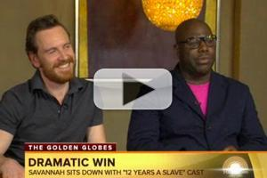 VIDEO: Cast of '12 Years a Slave' Talks GOLDEN GLOBE Win on 'Today'