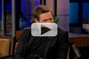VIDEO: Aaron Eckhart Talks Quitting Acting Career on LENO