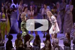 STAGE TUBE: Peter Pan Proposes to Wendy at Performance in Glasgow