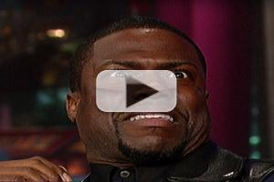 VIDEO: Kevin Hart Talks Hangin' with Co-Star Stallone on LETTERMAN