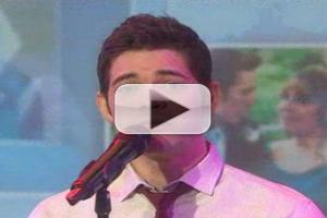 VIDEO: Jeremy Jordan Honors Musician with Special TODAY Show Performance