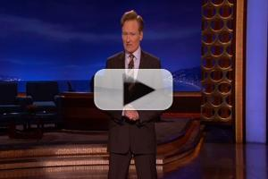 VIDEO: CONAN Talks Academy Awards, Justin Bieber and More in Tonight's Monologue