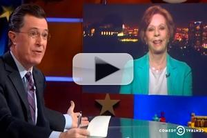 VIDEO: Stephen Chats with His Lifelong Hero Carol Burnett on COLBERT