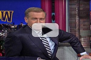 VIDEO: Brian Williams Ponders Late Night Loyalities on LETTERMAN