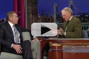 VIDEO: Letterman Argues with Brian Williams Over Christie's 'Bridgegate' Scandal