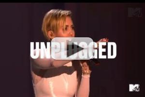 VIDEO: Sneak Peek - MILEY CYRUS: UNPLUGGED Coming to MTV 1/29!