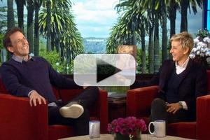 VIDEO: Seth Meyers Brushes Up on Interviewing Skills on ELLEN