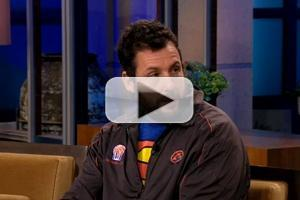 VIDEO: Adam Sandler Offers Retirement Advice to JAY LENO