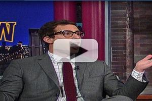 VIDEO: Andy Sandberg Rants on Super Bowl on LETTERMAN