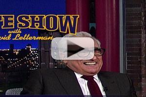 VIDEO: Martin Scorsese Talks Filming THE WOLF OF WALL STREET 'Dirty Stuff' on 'Letterman'