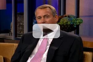 VIDEO: John Boehner Talks Possible Run for President on JAY LENO