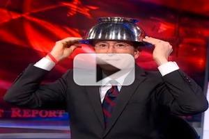VIDEO: Stephen Reveals Latest in Riot Gear Protection on COLBERT
