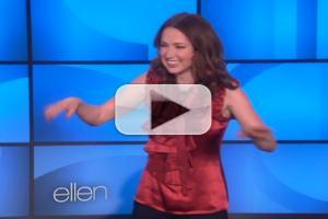 VIDEO: ELLEN Gets the Flu, Watch Ellie Kemper Fill-In as Host!